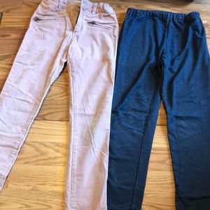 Lot 2 pair girls pants - Zara and uniqlo